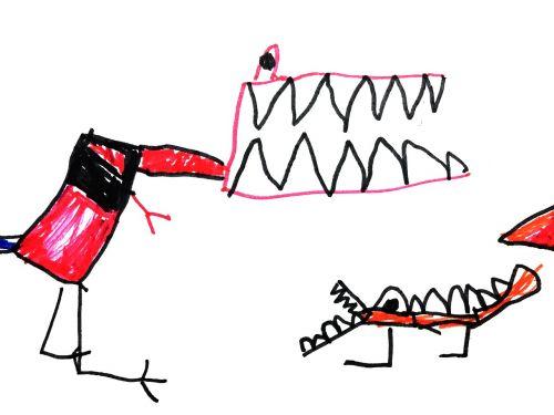 dinosaurs kids illustration figure
