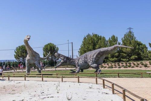 dinosaurs  fight  prehistory