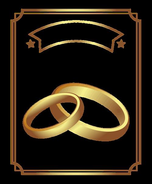 diploma gold wedding rings