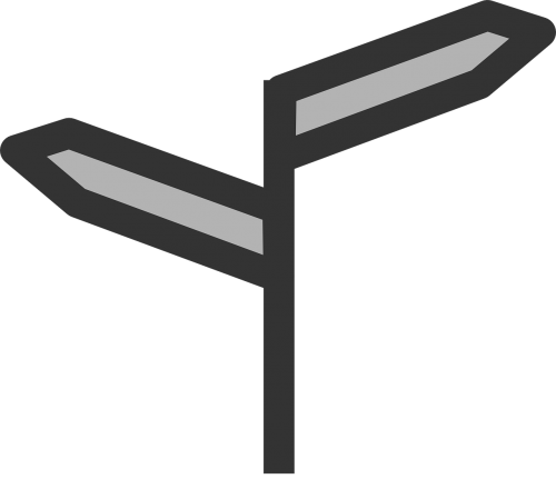 directions signpost sign