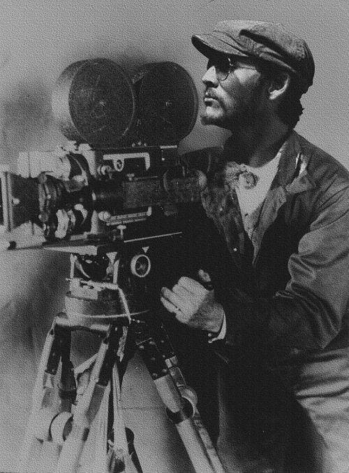 director burke roberts camera