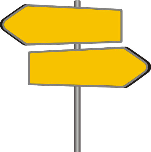 directory signposts shield