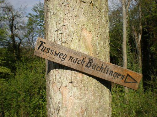 directory wood arrow