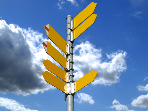directory signposts trail