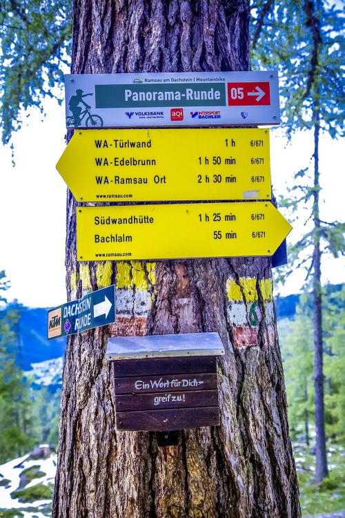 directory alpine hiking