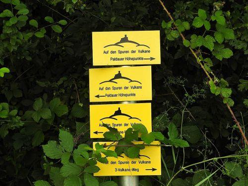 directory way description sign