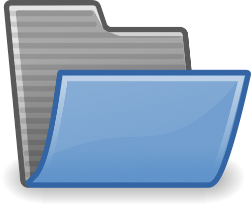 directory folder open