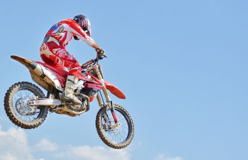 dirt bike motocross rider extreme sports