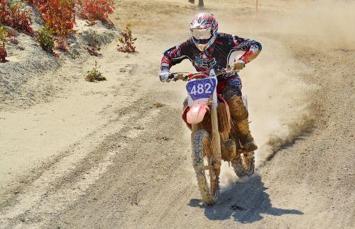 dirt bike motocross rider scramble