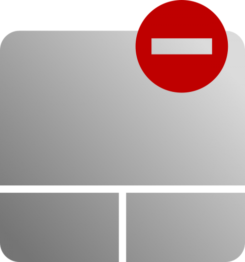 disabled touchpad mouse