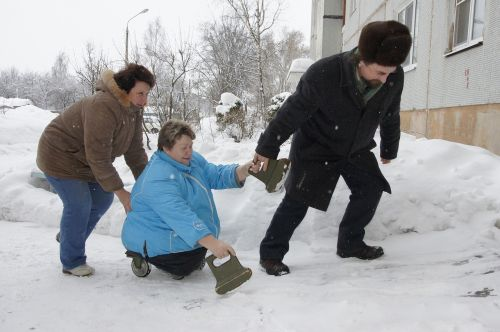 disabled help snow