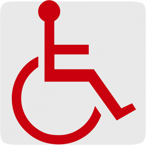 disabled parking wheelchair