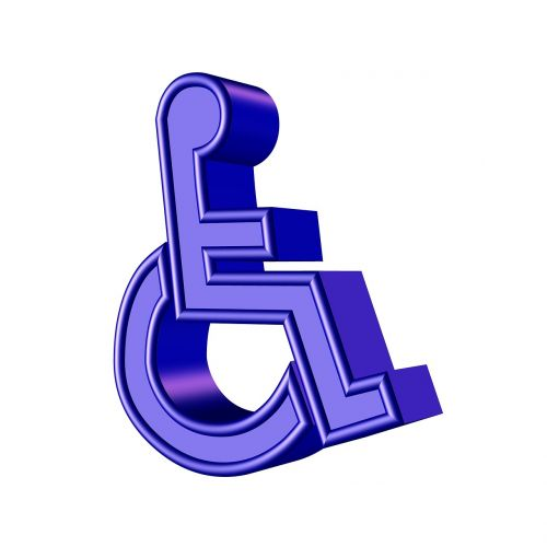 disabled sign symbol