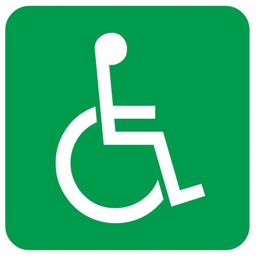 disabled sign wheelchair