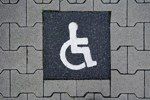 disabled parking space  integration  park