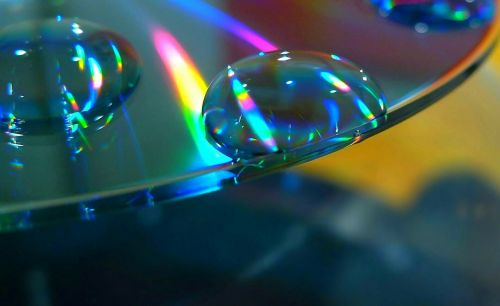 disc cd colorful