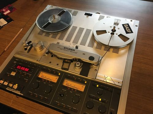 disc machine recorder disc with