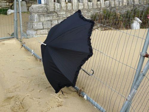 Discarded Umbrella