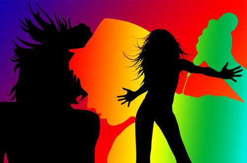disco dance singer