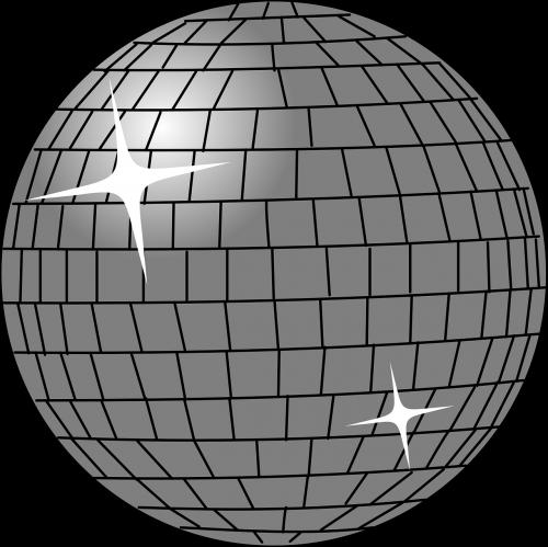 disco ball disco 60ies