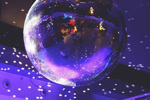 disco ball  lights  disco