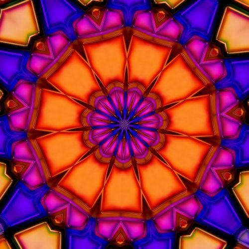 Disco Crystals Kaleidoscope