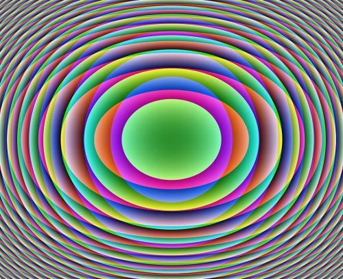 discs color background