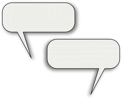 discussion speech bubbles