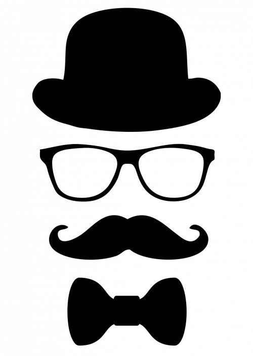 Disguise For Man Clipart