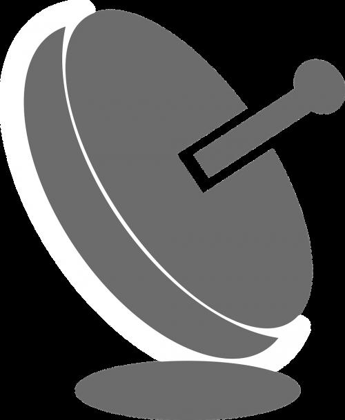 dish grey icon