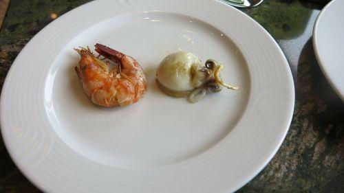 dish gourmet calamari