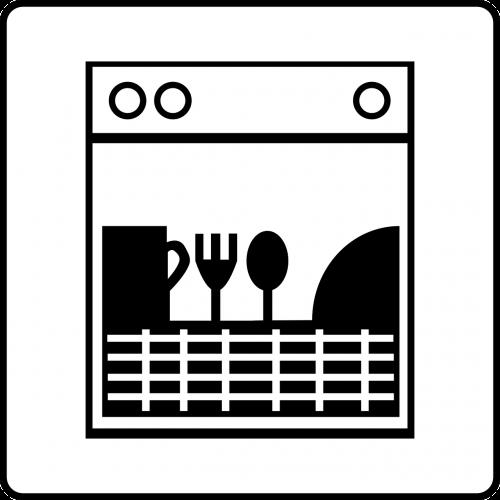 dishwasher dishes kitchen
