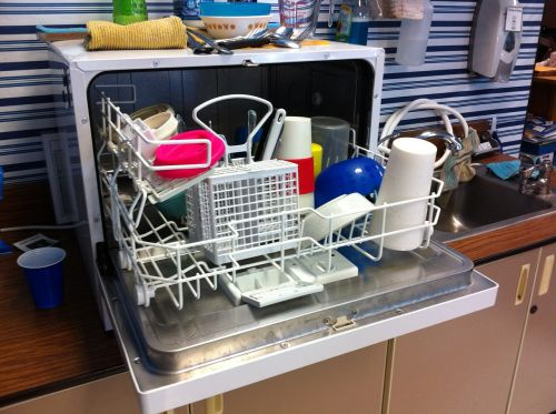 dishwasher clean dishes