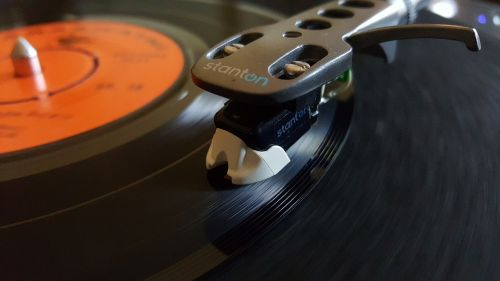 disk vinyl retro