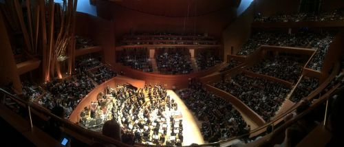disney concert hall los angeles concert