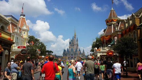 disney land magic kingdom fantasy