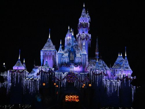 disneyland december california