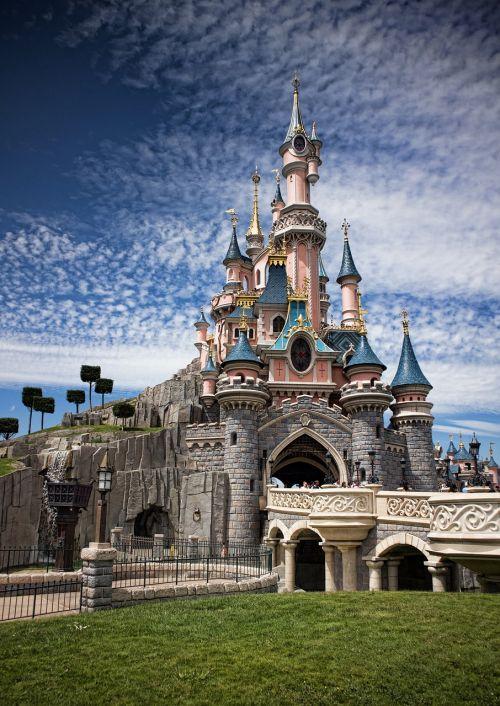 disneyland euro disney castle