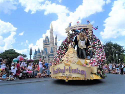Disneyworld Florida Parade