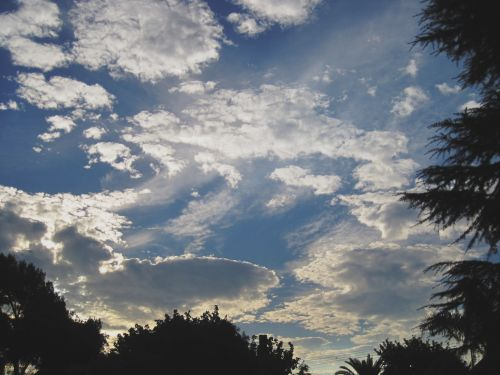 Display Of Clouds