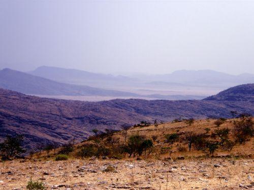 Distant Blue Hills