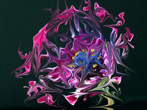 Distorted Flower