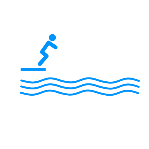 diver diving swimming