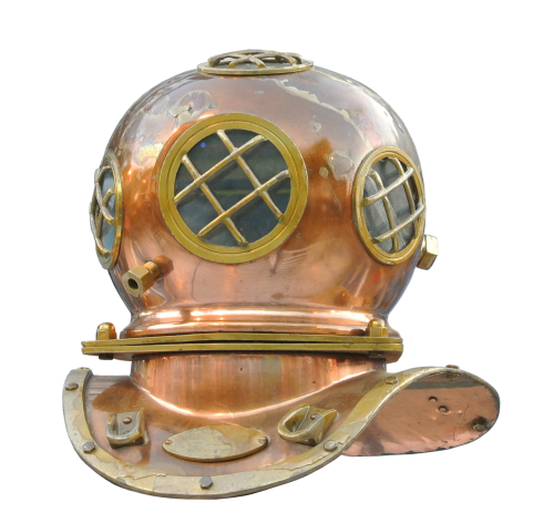 divers helm divers helmet