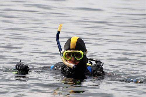 divers  diver  check-out