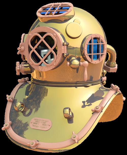 divers helmet helmet diver diving