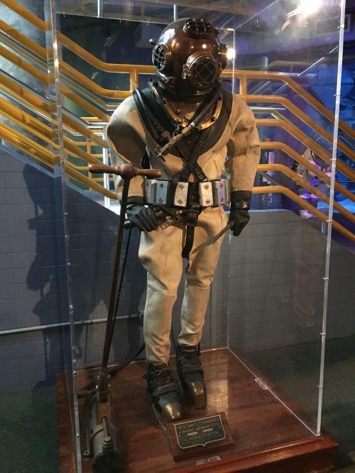 diving diver costume