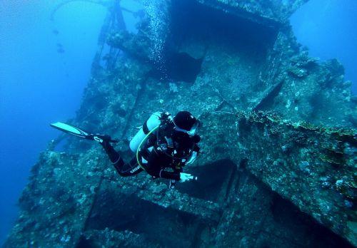 diving egypt underwater