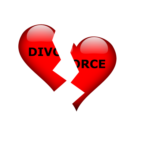 divorce break up separation