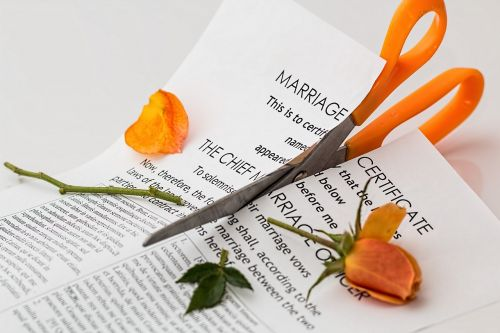 divorce separation marriage breakup